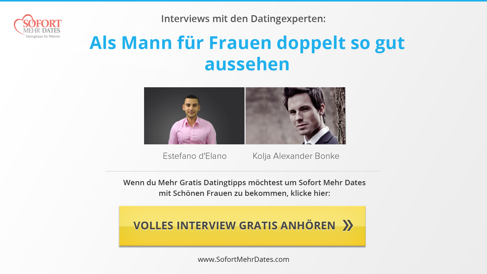 Interviews mit Datingexperten - Auszüge | Dating Psychologie